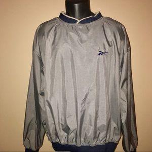 Reebok Mens Herringbone Golf Pull Over Jacket L